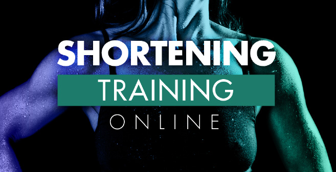 Shortening training online